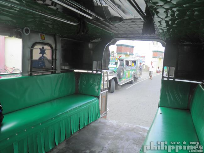 Inside Philippine Jeepney