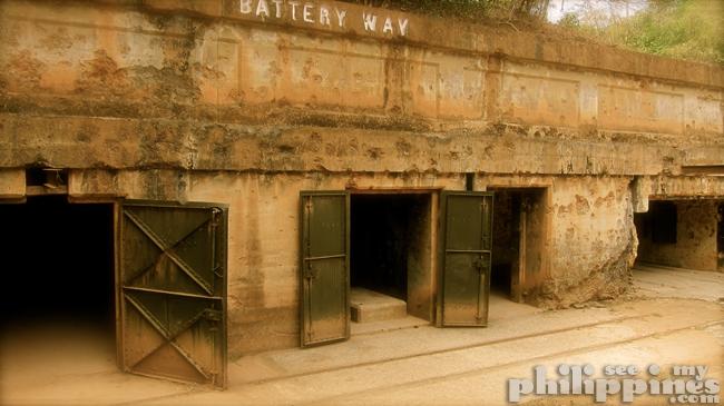 Corredigor Island Philippines Battery Way