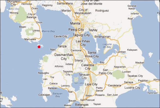 Cavite Philippines Map Citiestips Com