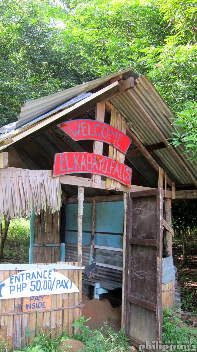 El Kabayo Waterfalls Subic Entrance