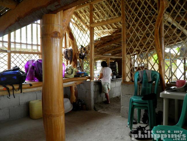 Nipa Hut Kubo Inside