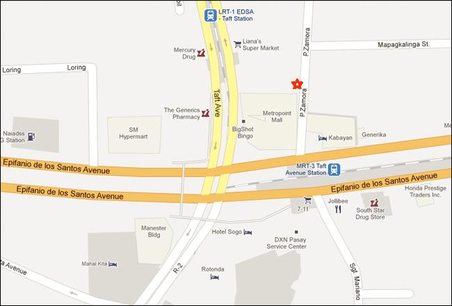Shogun Suite Hotel Pasay Manila Map