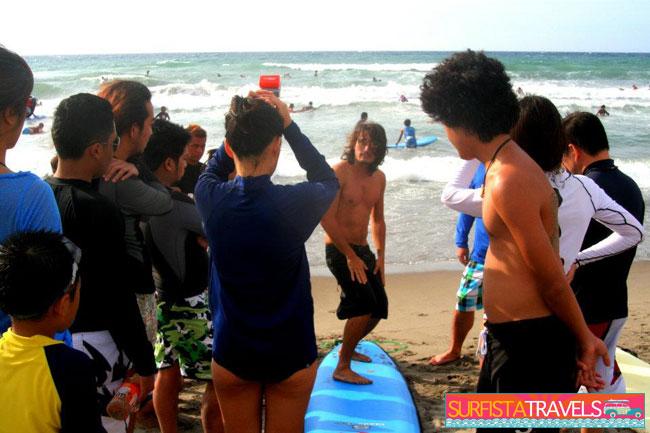 Surfista Travels Lesson Luke Landrigan