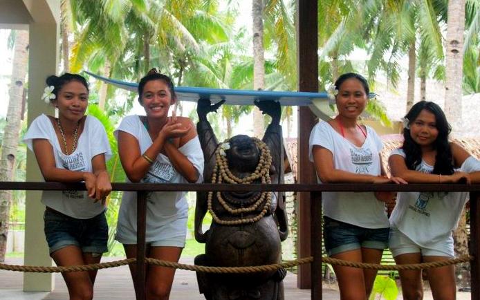 Buddhas Surf Resort Siargao Philippines Staff